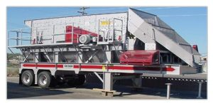6X20 3 DECK PORTABLE HORIZONTAL SCREENING PLANT INV