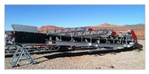 30x32 transfer conveyor in stock